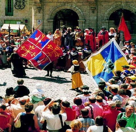 An historic pageant in Pezenas