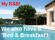 Languedoc Bed & Breakfast villa in Pezenas