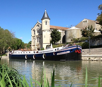 Luxury French canal vacation