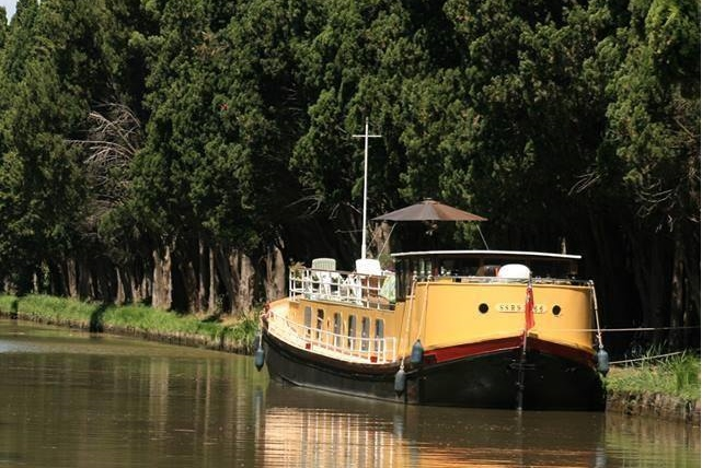 Canal du Midi weekly barge rental